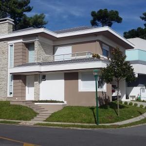 Fachada Residência Unifamiliar Tiago