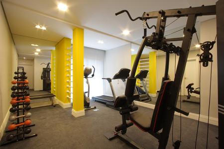 Sala de Fitness.